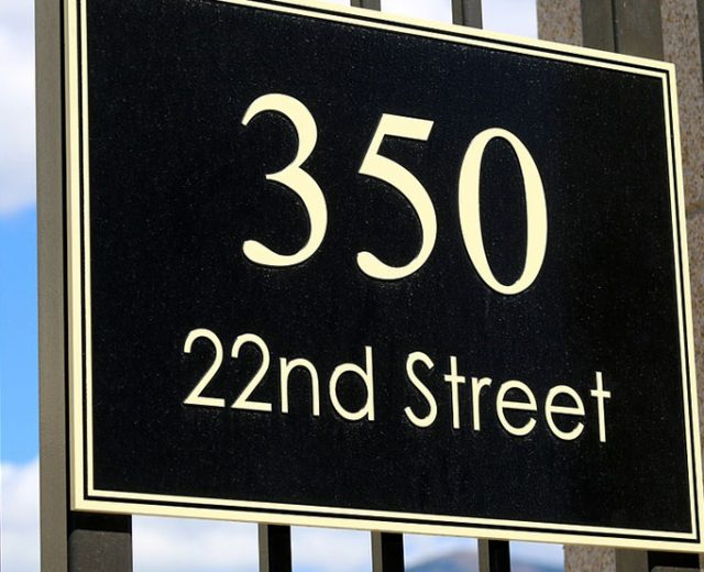 street address