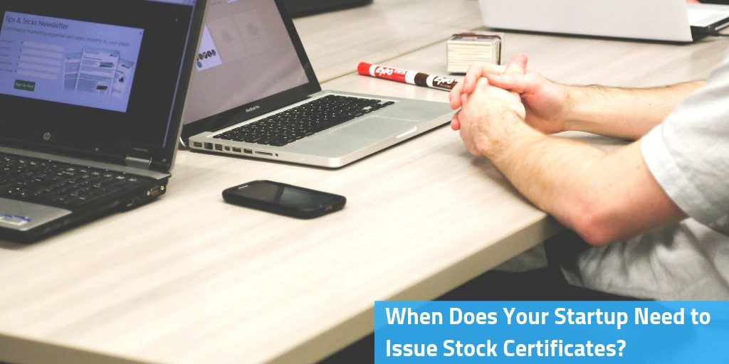Issue Stock Certificates
