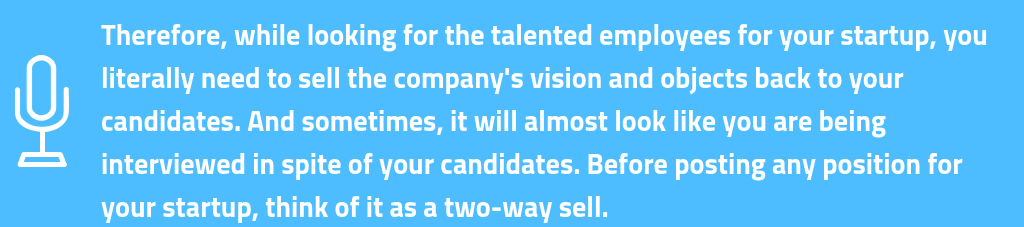 looking for the talented employee